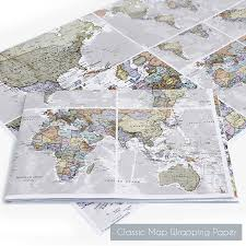 Un Map Scratch The World Map Print With Coin By Maps International
