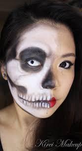 kryolan halloween makeup half face makeup archives kirei makeup