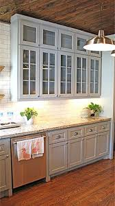 gray kitchen floors with oak cabinets gray cabinets and oak hardwood floors kitchen inspiration