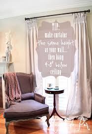 diy smocked curtains maison