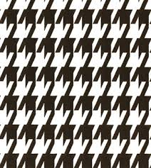 Black And White Drapery Fabric Large Houndstooth Black White Best Fabric Store Online