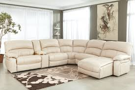 Sofa Set L Shape Brown Leather Sectional Sofa With Chaise Lounge And Reclining