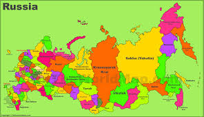 russia map russia maps maps of russia russian federation
