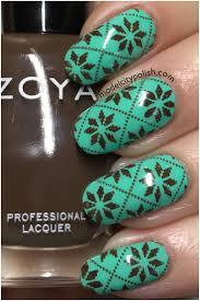 cute ugly sweater nails model city polish