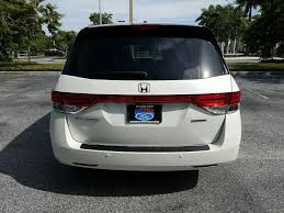 pre owned 2016 honda odyssey touring elite mini van passenger in