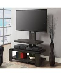 stand up l with shelves huge deal on whalen 3 shelf tv stand with mount for tv s up to 54