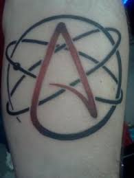atheist tattoo i don u0027t agree with what it says but it u0027s a really