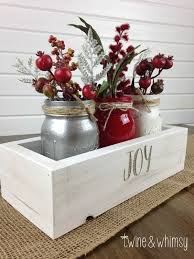 White Christmas Centerpieces - 25 red and white christmas decoration ideas the crafting nook by