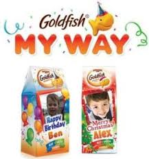 personalized cracker boxes pepperidge farm goldfish cheddar 30 ounce