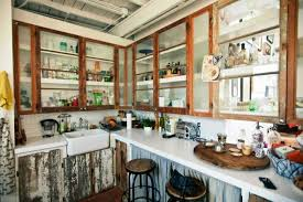 Glass In Kitchen Cabinets 10 Chic And Kitchen Glass Cupboards Rilane