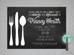 lunch invitations retirement party invitation dinner party invitation