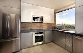 glossy white kitchen cabinets apartment kitchen ideas home act remarkable for apartments