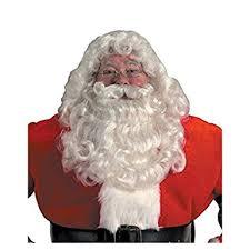 santa beard professional santa wig and beard set costume accessory