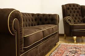 Vintage Leather Chesterfield Sofa by Sofas Center 19th Centuryield Sofa Chairish Imposing Brown