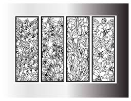 coloring bookmark printable bookmark diy bookmarks