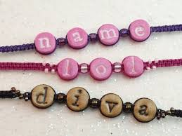 beaded name bracelets 72 best bracelets images on jewelry