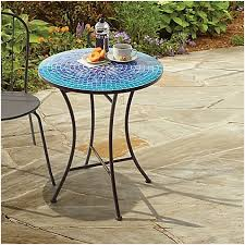 Mosaic Bistro Table Mosaic Patio Table Top Smartly Easti Zeast