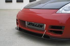 nissan 350z kit car stillen front bumper splitter for stillen series 2 front bumper