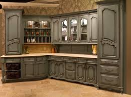 Rustic Cabin Kitchen Cabinets Kitchen Interior Furnitures Gray Green Kitchen Cabinets With