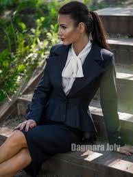 slim tailored peplum jacket dagmara joly