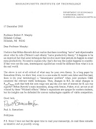 cover letter for article submission paul samuelson correspondence regarding my papers on capital