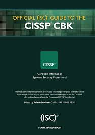 official isc 2 guide to the cissp cbk 4th ed adam gordon