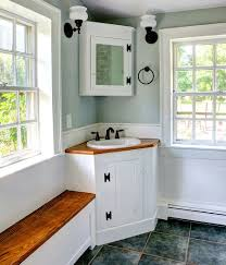 30 creative ideas to transform boring bathroom corners small rustic bathroom with corner vanity design ck architects