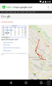 Here Maps Android How To View And Manage Your Location History On Android