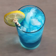 blue lagoon cocktail in the driveway mix that drink