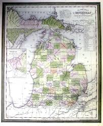 Coldwater Michigan Map by Old Michigan Maps Michigan Map