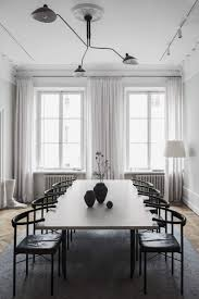 stunning interiors for the home stunning black and white minimal dining room the home of interior