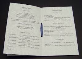 booklet wedding programs as promised wedding programs for catholic ceremony o