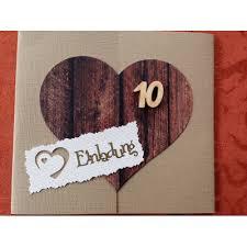 einladungen h lzerne hochzeit einladung 10 hochzeitstag biblesuite co