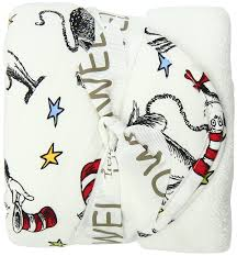amazon com trend lab dr seuss abc hooded towel hooded baby