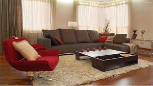 Brown Themed Living Room by