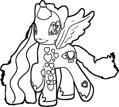 pony coloring pictures perfect my little pony coloring page wecoloringpage
