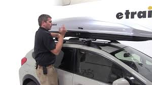 Subaru Forester 2014 Roof Rack by Review Of The Thule Sonic Xxl Rooftop Cargo Box On A 2014 Xv