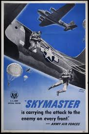si e du front national skymaster is carrying the attack to the enemy on every front