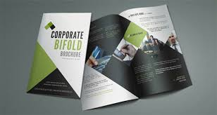 printable bi fold brochure template 76 free word psd pdf eps