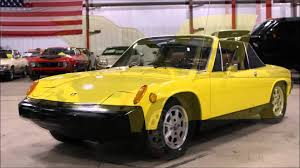 porsche 914 outlaw 1976 porsche 914 yellow youtube