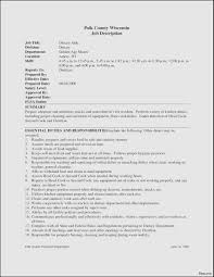 Resume Template For Caregiver Position Sle Resume For Caregiver Position Elderly New Computer Skills