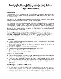 Ojt Sample Resume by Sample Resume For Ojt Students Job Training Augustais