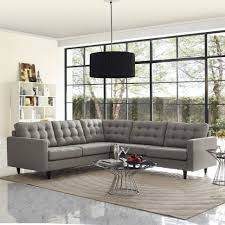 Gray Leather Sectional Sofa Sofa Sofa Beds Couch Small Sectional Couch Modern Sectional