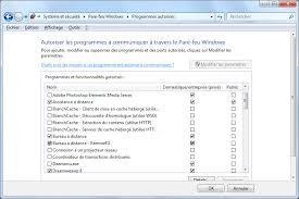 bureau distance windows 7 le pare feu sous windows 7 windows 7 aidewindows