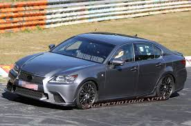 gsf lexus orange spied 2015 lexus gs f storms the u0027ring smiles for the camera