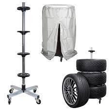 cerco carrello porta auto usato carrello porta pneumatici con ruote e telo di protezione nuovo