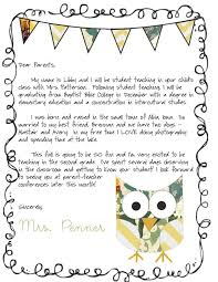 brilliant ideas of sample introduction letter to parents from