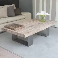 Uk Coffee Tables Modena Distressed Wood Metal Coffee Table