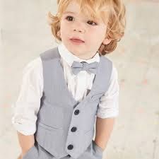 boys light blue suit mini boys light blue waistcoat and shirt set baby boys