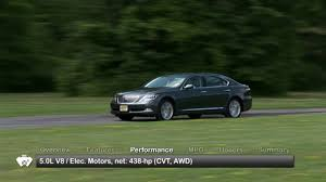 lexus ls features 2009 lexus ls 600h l used car report youtube